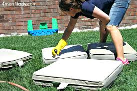 how to clean outdoor cushions care guide patio cleaning mildew ou