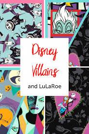 Lularoe Disney Patterns Classy Disney Villains Collection For LuLaRoe OmahaLulaGirl