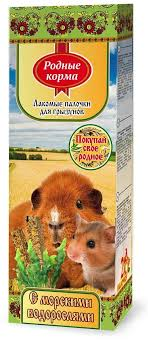 Лакомство <b>Родные корма зерновая палочка</b> для грызунов ...