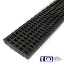polylok plastic grate black