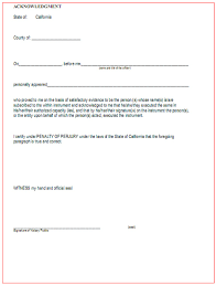 Notary Public Template San Francisco Notary Public Acknowledgement This Is An E Flickr