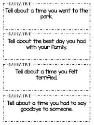 Graphic Organizers for Personal Narratives   Scholastic Pinterest I would use these writing prompts to have students practice expository  writing  I would write