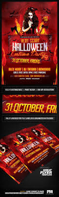 104 best ideas about flyer design templates flyer very scary halloween party flyer template