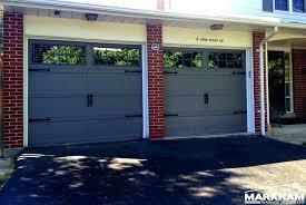 metal garage door paint how