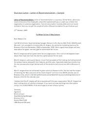 Free Recommendation Letter Template Custom Free Letter Of Recommendation Templates Samples Business Referral
