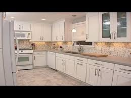 Tile Backsplash Ideas For White Cabinets Beauteous Kitchen Backsplash Ideas With White Cabinets YouTube