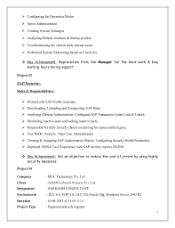 Best Solutions Of Resume Sap Support Mubashir Ahmed Erp Sap Basis