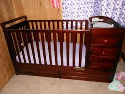 AFG Baby Furniture Daphne 3 in 1 Crib & Changer bo Cherry
