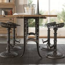 furniture mestler dining table set review youtube interesting industrial bar stool for dining room design with dining ta