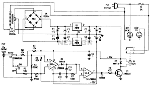 automation circuit page 5 next gr vcr tv on off control circuit