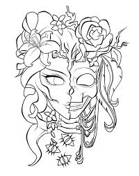 Coloring Pages Gangster Girls