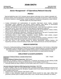 Network Security Manager Resume Sample & Template