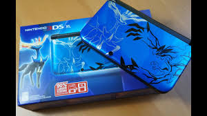 BLUE Nintendo 3DS XL Pokemon X and Y Bundle!!! - YouTube