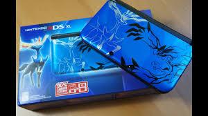 BLUE Nintendo 3DS XL Pokemon X and Y Bundle!!! - YouTube