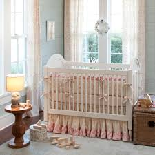 crib bedding for baby girls with lamp