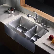 Retractable Kitchen Faucet Kraus Stainless Steel Pull Out Kitchen Faucet With Soap Dispenser