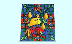 plastic stained glass sheets faux supplies fake
