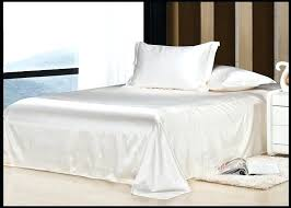luxury ivory cream milky white natural mulberry silk bedding set king size queen full twin duvetivory