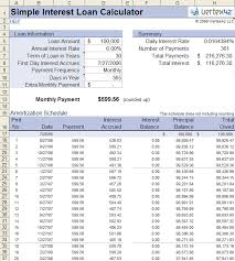 Simple Loan Calculator Stand Out My Mortgage Home Loan