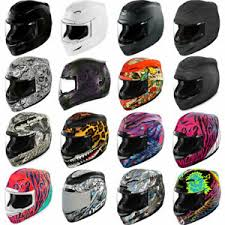 Details About 2019 Icon Airmada Full Face Motorcycle Helmet Dot Pick Size Graphic