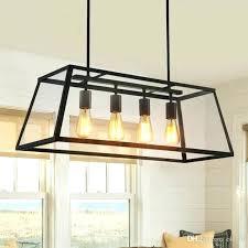 black iron lighting retro rustic wrought iron black chandelier light rectangle loft pendant lamp vintage industrial black iron