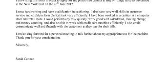 cover letters for cashiers cover letter examples for cashier complete guide example