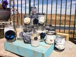 Glass Jar Table Decorations Wedding Decoration Ideas Rustic Country Wedding Reception 35
