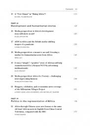 africa s media image in the st century from the heart of ami table of contents page 3