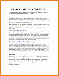 How To Write A Medical Assistant Resume With Examples Samples Te