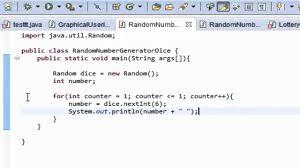 Java Programming Tutorial 7 Random Number Generator Dice Hd