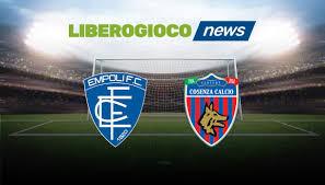 Il pre partita di Empoli - Cosenza del 4 Maggio 2021 H14:00 ai raggi x:  dati storici, trend e curiosità - LiberoGioco News - LiberoGioco News