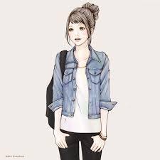 ショートバングのカジュアル女子 ソウノ ナホ 創作sns Galleria