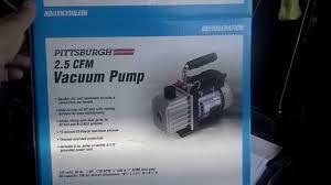 ac vacuum pump harbor freight. ac vacuum pump harbor freight b