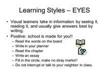 different learning styles essay popular report writing site different learning styles essay