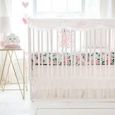 pink crib bedding fl baby bedding