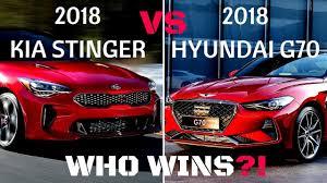 2018 hyundai g70. modren 2018 2018 hyundai g70 vs kia stinger who wins intended hyundai g70