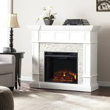 electric stone fireplace castlecreek heater canada with mantel
