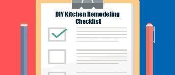 Kitchen Remodel Checklist Diy Kitchen Remodeling Checklist Mcdaniels Kitchen And Bath