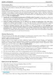 Engineering Manager Resume Examples Technical Manager Resume Resume
