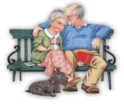 Image result for grandparents animated