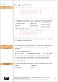 Homeowner Contract From Jct - Employing A Builder