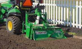 a frontier rotary tiller is the perfect tool for improving garden soil