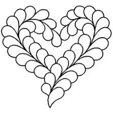 Quilting Stencils > Heart Block - Item: 11  on QuiltingCreations ... & Quilt Stencil Feather Heart By Central Press Publication - 11in Adamdwight.com