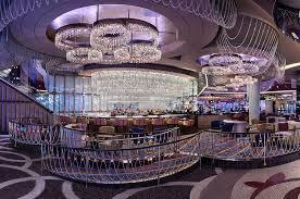 the chandelier las vegas inside shot of empty lounge