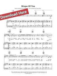 ed sheeran sheet music music news blog ed sheeran shape of you sheet music chords