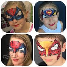 Whole Mask Designs Pin By Gwendolyn Clark On Face Paint Boys Mask Full Face