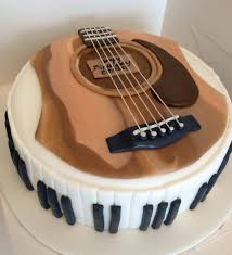 Guitar And Piano Cake By Butter Home Bakery Butter Home Bakery