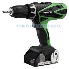 hitachi drill. bor listrik hitachi / cordless impact driver drill dv 18dfl dv18dfl