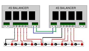 lead acid battery balancers 2v 4s Lipo Wiring Diagram Plug Wiring Diagram