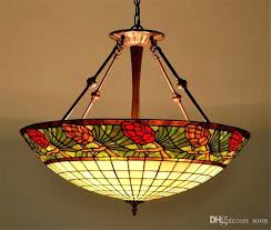 tiffany stained glass lamp stained glass lamp country style glass pendant lamp living room hotel led